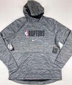 Nike Toronto Raptors Official Team NBA Gray Pullover Hoodie AV1373-032 2XL Tall