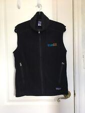 PATAGONIA Synchilla Black Men's Fleece Vest Sleeveless Zipper Sz M
