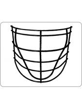 New Gait Pro lacrosse face mask BOXFMPRO D42986 cage wire lax box indoor Senior