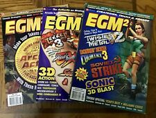 EGM2 Magazine 3 Issues, January April May 1997, Very Good Condition