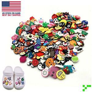 10 25 50 100 150 200 piece PVC Shoe Charms for Crocs Bracelet Mixed Lot Random