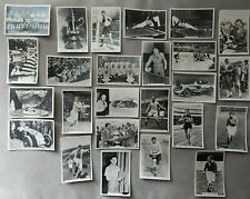 More details for 25 sporting events and stars vintage cigarette card by senior service photos