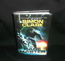 Rage Master By Simon Clark Limited Signed Edition 190 of 500  (2015, Hardcover)