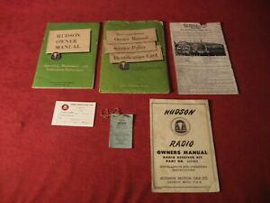 1952 Hudson Owner's manual User's Guide Hand Book Old Original