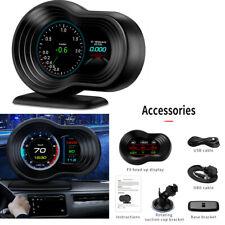 Car HUD OBD Head Up Display +GPS Navigation Speed Projector Digital Speedometer