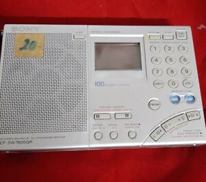 Sony ICF-SW7600GR World Radio Receiver