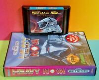 Heavy Nova (Sega Genesis, 1991) Game + Box 1 Owner ! Tested Nice ! Hard to FInd