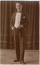ANTIQUE 1900 VICTORIAN TINTYPE PORTRAIT CABINET PHOTO YOUNG GENTLEMAN GAY