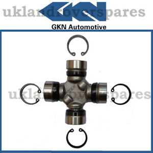 """LAND ROVER DISCOVERY 2 PROPSHAFT UJ UNIVERSAL JOINT """"OEM"""" GKN NEW - 98 TO 04"""
