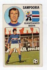 figurina - CALCIATORI PANINI 1976/77 NEW - NUMERO 259 SAMPDORIA BEDIN