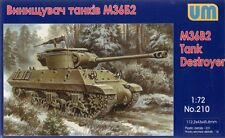 M36-B2 JACKSON TANK DESTROYER (FRENCH, YUGOSLAVIAN &TURKISH MKGS) 1/72 UNIMODELS