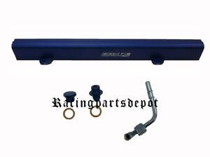 OBX High-Flow Fuel Rail Fit For Nissan Sentra SE Spec V 2.5L QR25DE  Blue