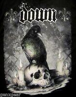 DOWN cd lgo JUMBO CROW / SKULL Official SHIRT SMALL pantera Diary of a Mad Band