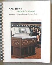 Rowe AMI R-74 Jukebox Manual