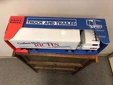 1970's New old Stock Ertl Truck & Trailer Stock # 3828 Rich's