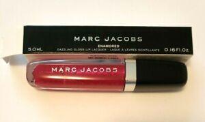 Marc Jacobs Dazzling Enamored Lip Gloss 378 NOT SORRY 0.16 Fl.Oz Free Ship