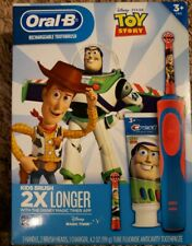 Oral-B Kids Toy Story Rechargeable Electric Toothbrush+Toothpaste Retails $39.97