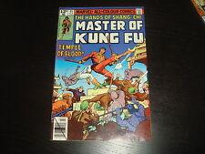 SHANG-CHI, MASTER OF KUNG-FU #85  Bronze Age Marvel Comics 1980  VF/NM