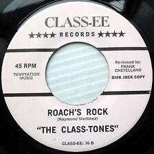CLASS TONES 45 roach's rock SCHOOL TONES after school rock NEAR-MINT RE e9414