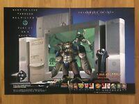 1998 Vintage Half-Life PC Print Ad/Poster Official Falcon Northwest Mach V Promo