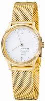 Mondaine MH1.L1111.SM Helvetica Light No1 Holiday Gold Tone Mesh Women's Watch