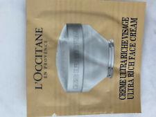 New L'Occitane Ultra Rich Face Cream 1.5 Ml!