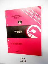 John Deere Liquifire 440 Snowmobile Operator's Manual (Revised) OM-M69171 H1