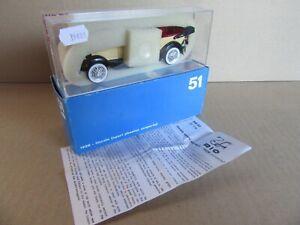 898 F RIO 51 Italy Lincoln 1928 Sport Phaeton Scoperta 1:43 +Box