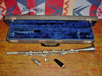 UNUSUAL SUPERIOR ARTIST METAL CLARINET 1930s high pitch b flat ?