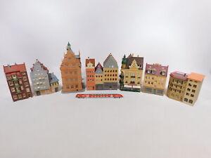 CT207-3# 7x Spur H0 Stadthaus/ Haus; ohne Bodenplatte (Kibri, Faller etc)