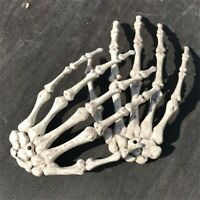 1 Pair Skeleton Hands for Halloween Party Garden Decoration Haunted House Props