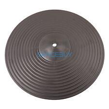 "12"" Practice Cymbals Drum Pads Practice Silent Low Noise Crash Hi-Hat Cymbals"