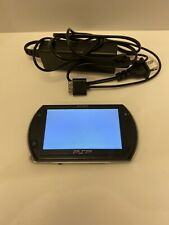 BLACK Sony PSP 3000 System w/ Charger TESTED WORKS **Read** Free Shipping