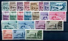ST PIERRE et MIQUELON  1938 Yvert 167-88 * SATZ 50€(F1456