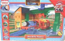 * Thomas & Friends Trackmaster SPIN & FIX THOMAS Set Rare*
