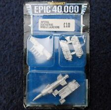 1997 Epic Imperial Guard Deathstrike Missile Launcher Citadel 40K Warhammer MIB