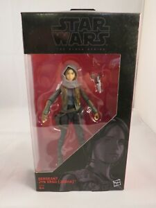 "Star Wars - The Black Series (6"") - Sergeant Jyn Erso (Jedha)"