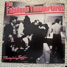 "THE FABULOUS THUNDERBIRDS ""POWERFULL STUFF"" RARE CD JAPANESE EDITION LYRICS  OBI"