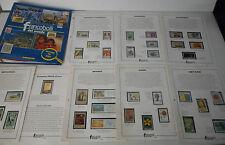 francobolli dal mondo, raccoglitore + 36 francobolli PENNY BLACK ORO