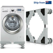 Adjustable Washing Machine Base Refrigerator Undercarriage Bracket Stand