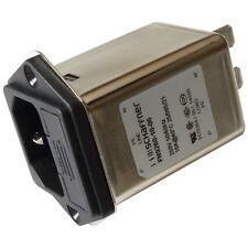 Schaffner FN9260-10-06 Netzfilter 250V AC 10A IEC Inlet-Filter Fuseholder 855200