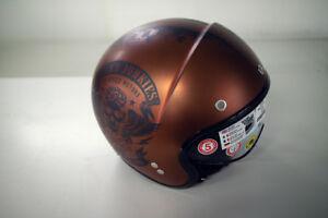 Nolan N21 Speed Junkies Jethelm Helm Helmet braun Größe XXS