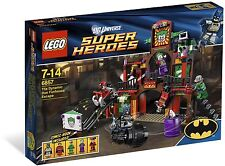 LEGO DC Super Heroes Batman Robin 6857—The Dynamic Duo Funhouse Escape—Brand New