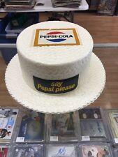 Pepsi Vintage 1966 Rare Store Promo Hat Very Rare Piece Nice Condition