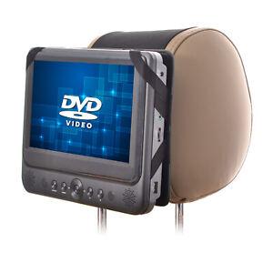 DVD Player Holder Car Headrest Mount for Swivel Screen DVD Player - 7 inch