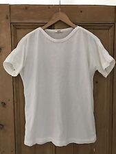 YMC You Must Create Men's White T Shirt Size Medium