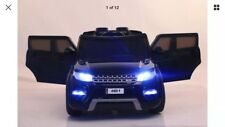 2018 BLACK RANGE ROVER SPORT HSE STYLE 12V ELECTRIC KIDS CHILDS RIDE ON JEEP CAR