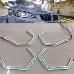 Newest F80 M3 Style LED Angel Eye Kit light For BMW 2 3 4 5 s' F30 E90 M3 M5