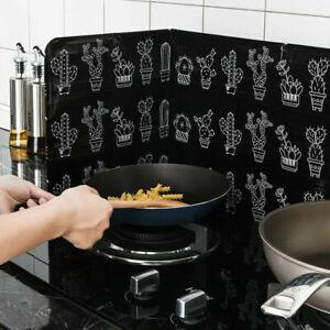 NEU Küche Kochen Braten Schallwand Öl Spritzschutz Herd Verbrühungsschutzplatte
