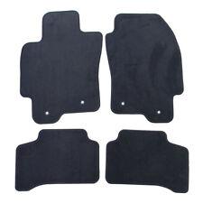 Jaguar 2004-2008 X-Type Carpet Floor Mat Set Flint Grey Black LFN C2S39481LFN